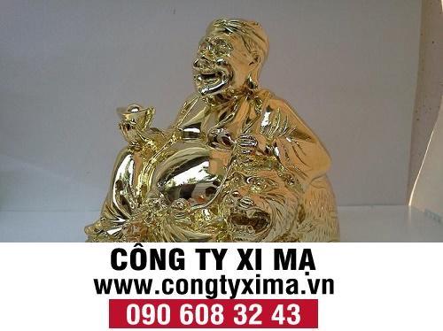 Xi mạ crom trang trí cho tượng